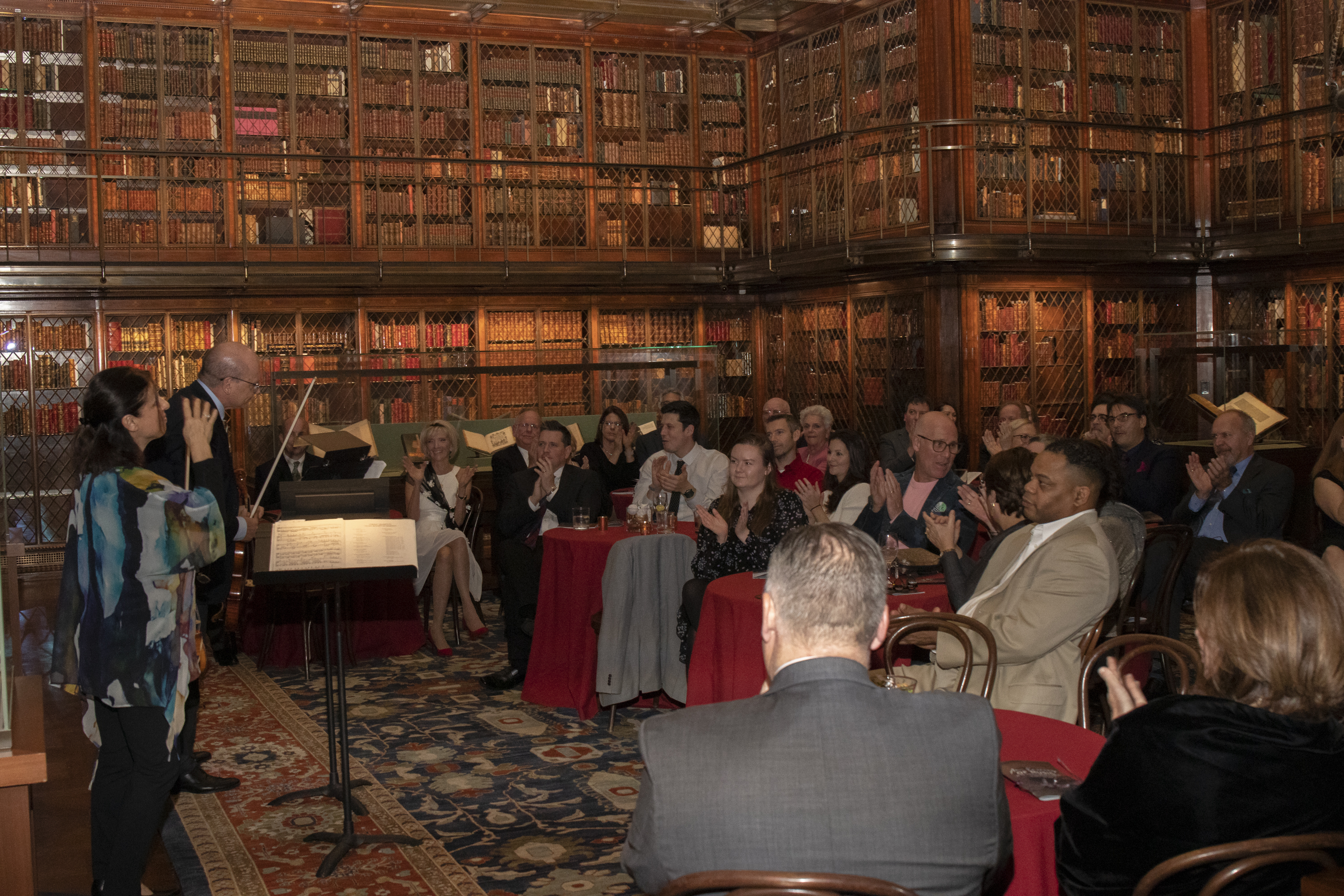 "2019 MorganLibrary Event 55 - ""An Evening of Music"" 2019"