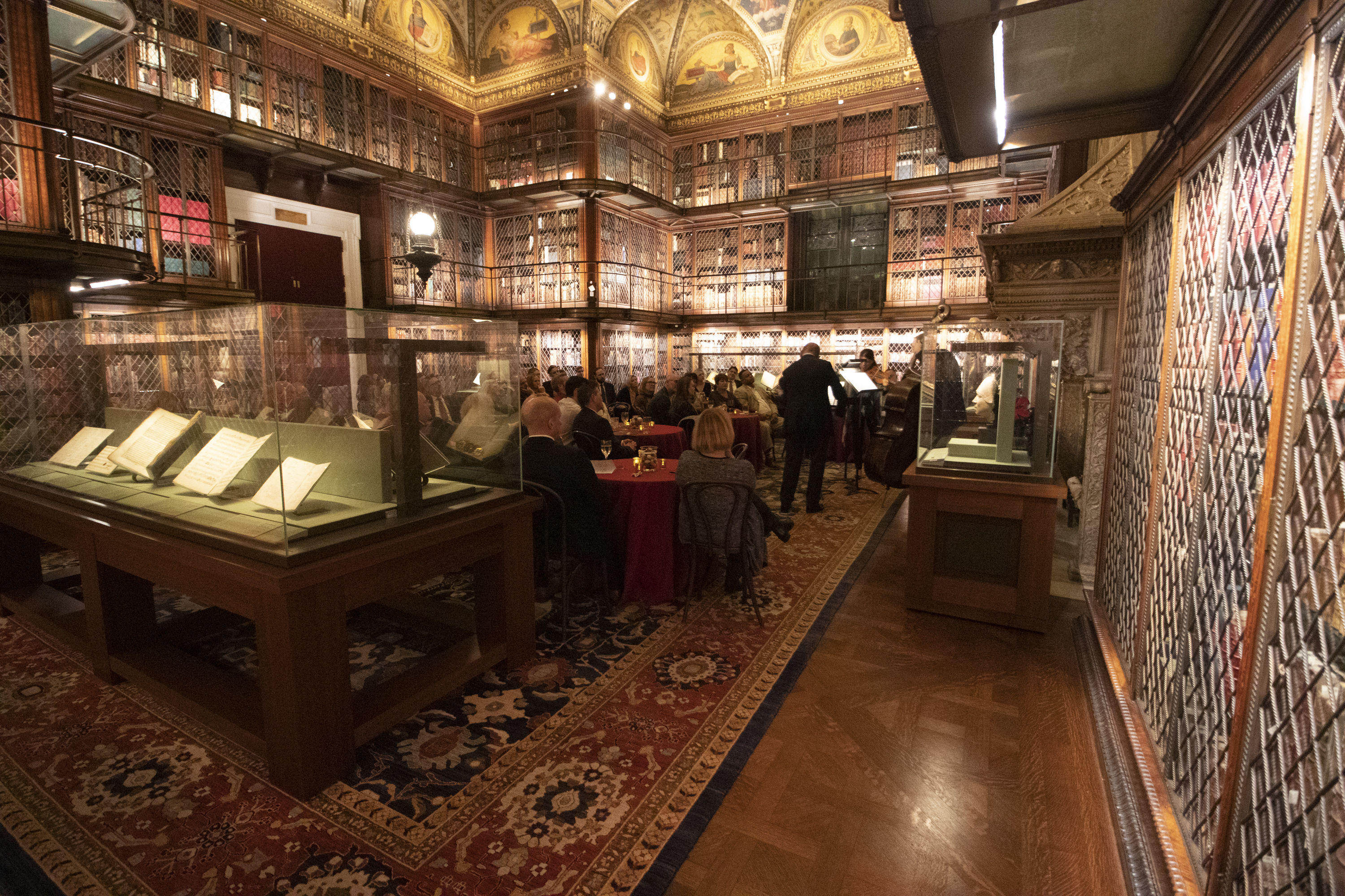 "2019 MorganLibrary Event 78 - ""An Evening of Music"" 2019"